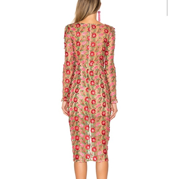 RARE NWT For love and lemons Amelia Midi Dress   Dresses